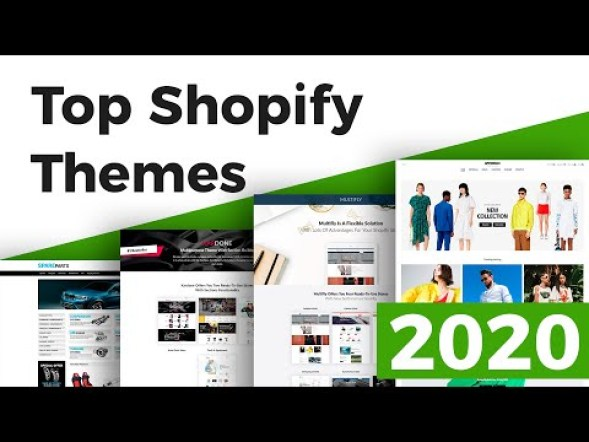 5 great looking shopify themes