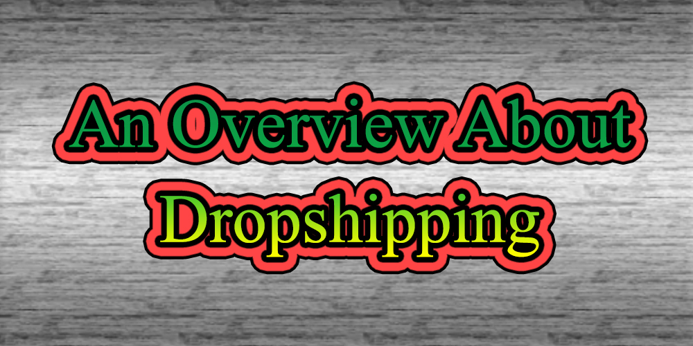 An Overview About Dropshipping
