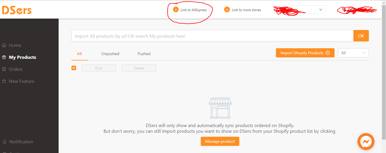 Aliexpress Dropshipping center dsers