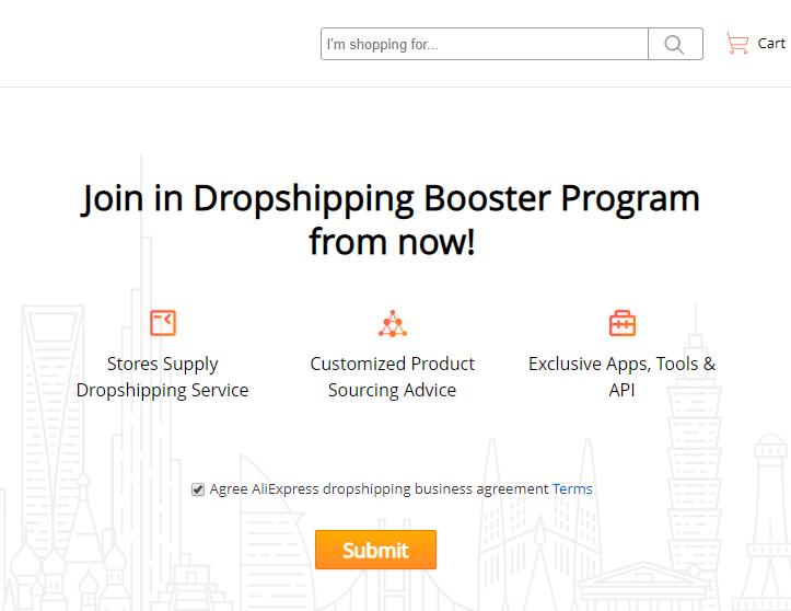 Aliexpress Dropshipping Booster Program
