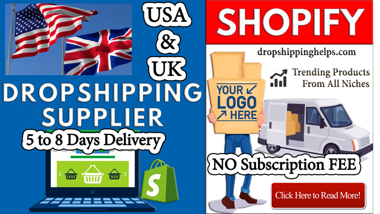 USA and UK dropshipping suppliers