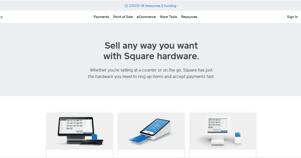 Square POS Hardware