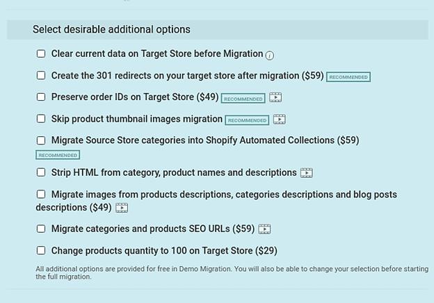 Magento to Shopify
