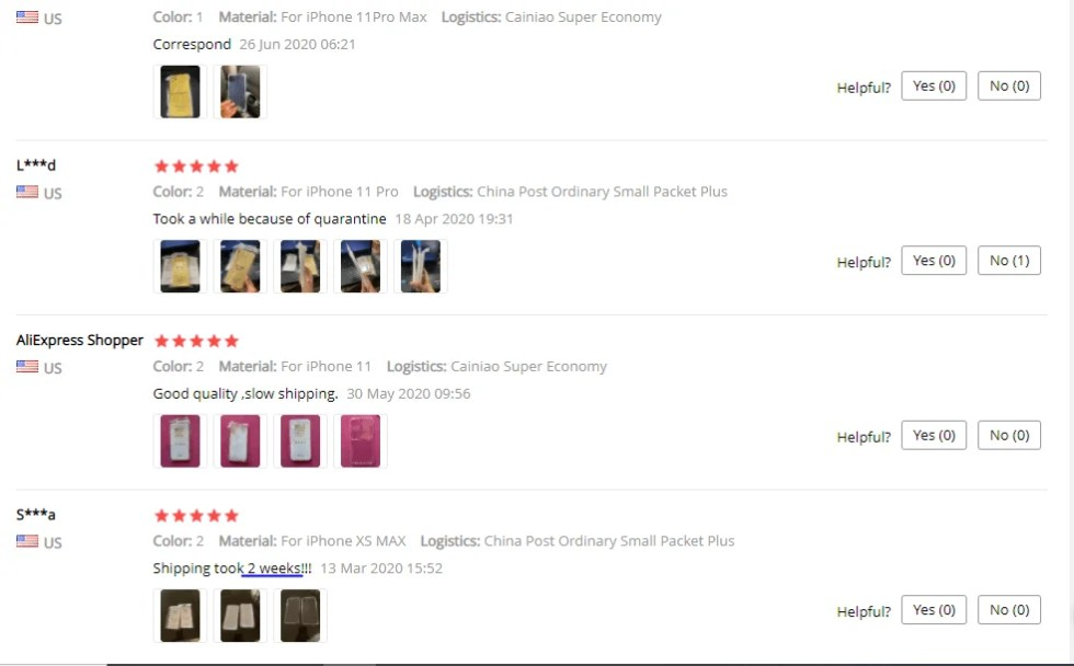 Aliexpress dropshipping suppliers feedback