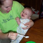 Daniel's-Son, Starting Solids He Is