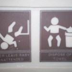 Western Canadian Washroom Sightings