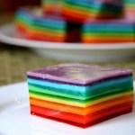 Rainbow Jello Recipe