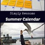 Simply Awesome – Summer Calendar