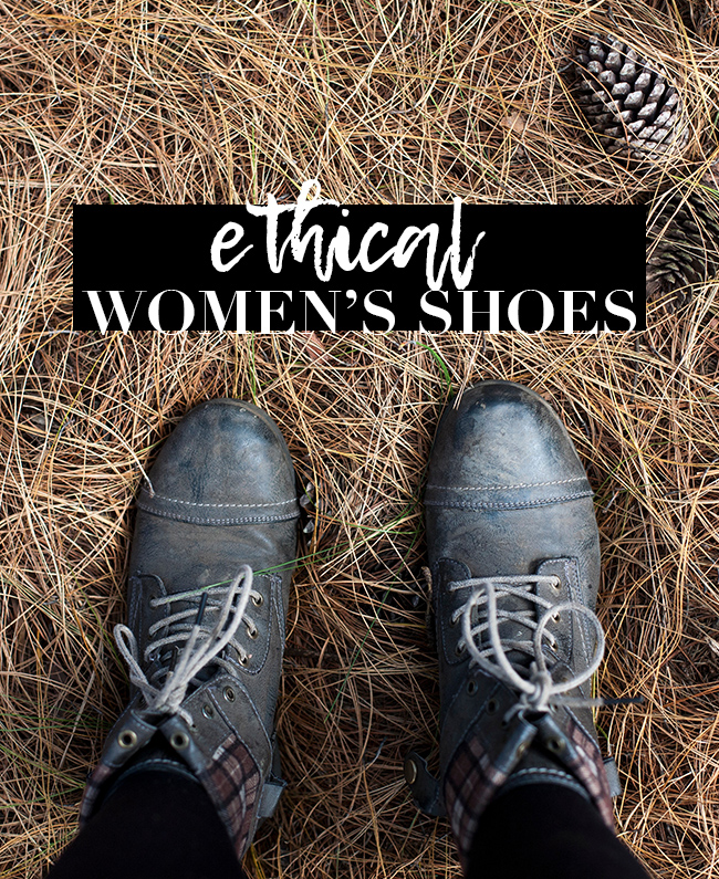 Top Ethical Women's Shoes