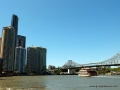 Brisbane river & city