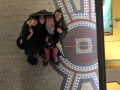 Cuddlers reunited in the Queen Victoria Building