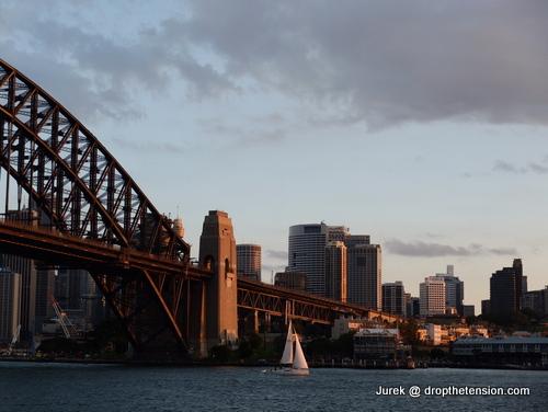 Big city life in Sydney