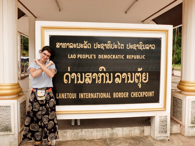 At the border we've heard disappointing news - as much as the Laos border guards wouldn't mind letting foreigners through, the Chinese are not ready yet (as of July 2015). 'Maybe next year', they said.