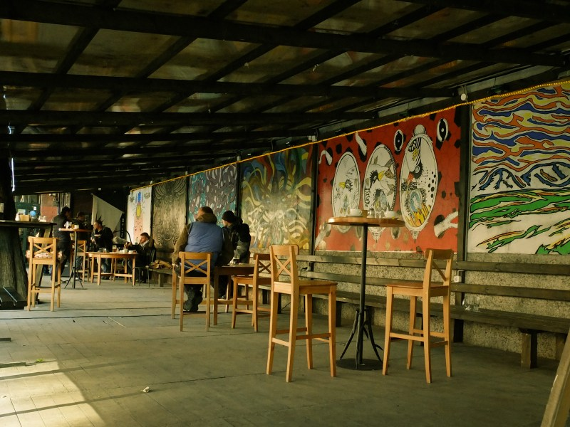 Speaking of hipsters, this is how their main venue in Minsk looks like