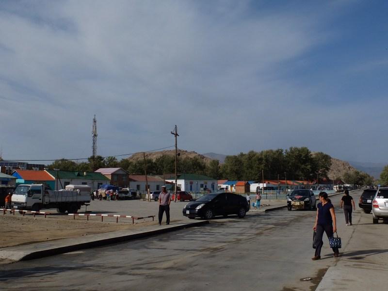 The central square of Bulgan sum