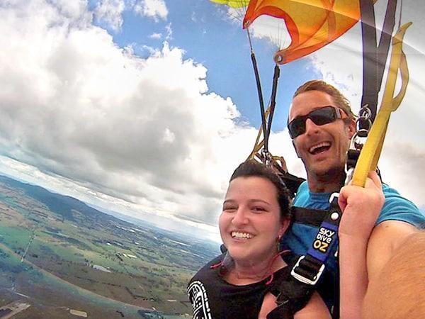 Skydive Oz Orange