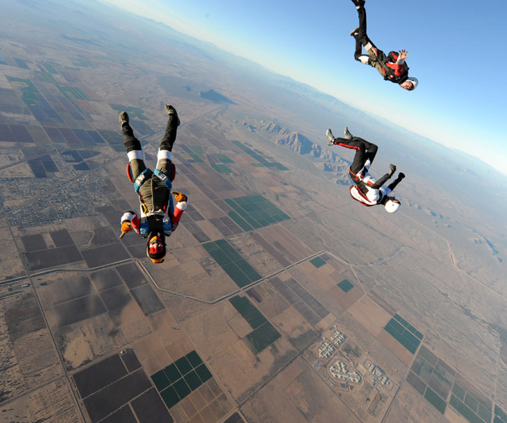 AzurXtrem, Ecole de parachutisme de Nimes/Ales