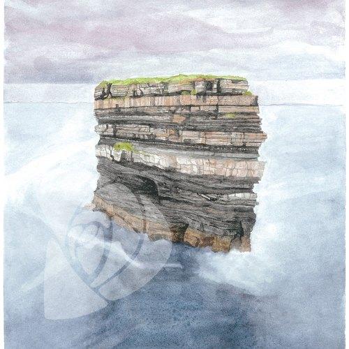 Dun Briste Sea Stack by Danielle Rose