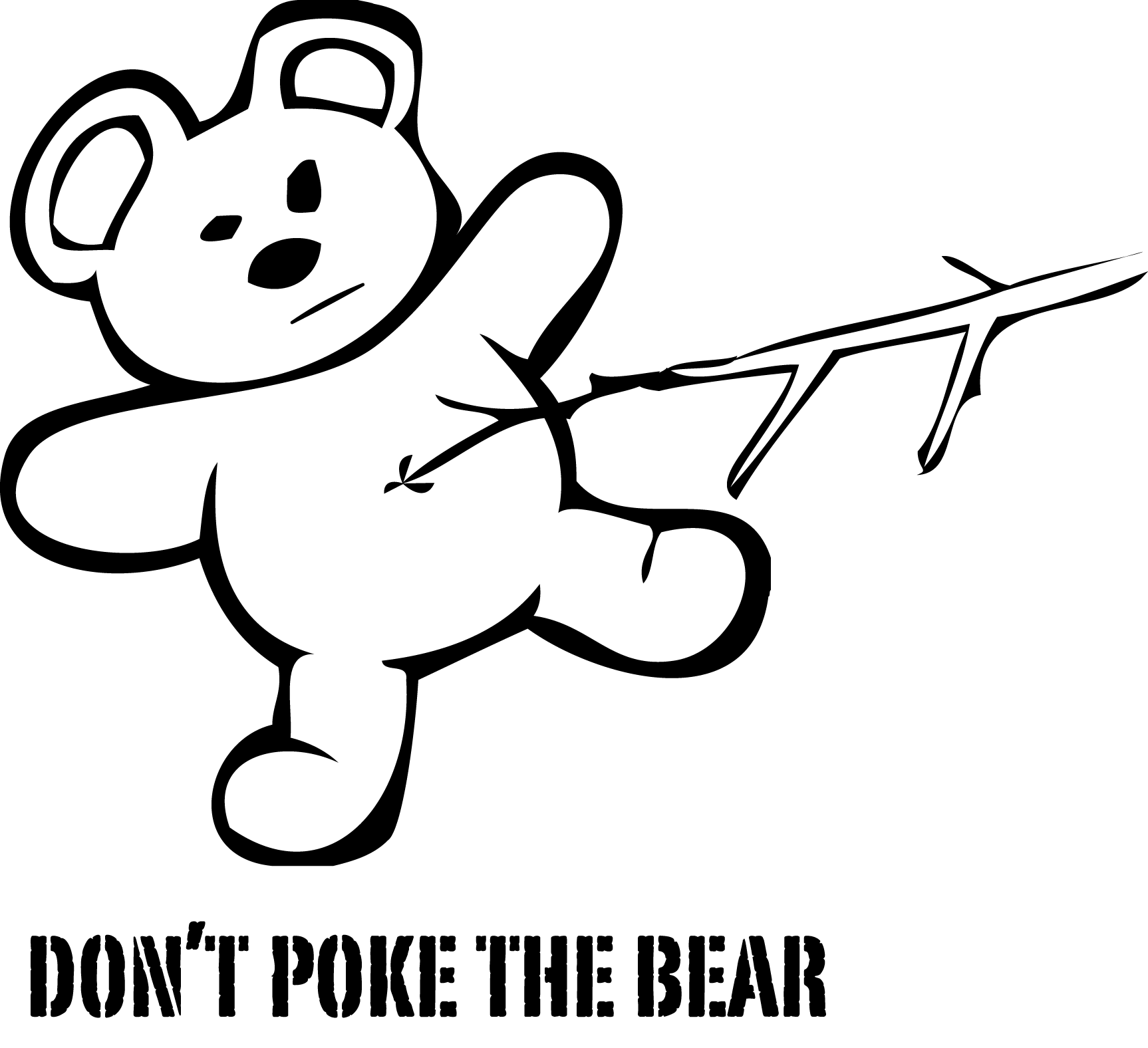 Poke The Bear Poke The Bear Oh My God He Ising