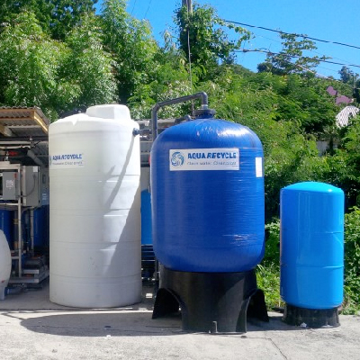 Commercial Laundry Water Recycling