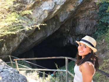 Entering the Cave of Zeus!