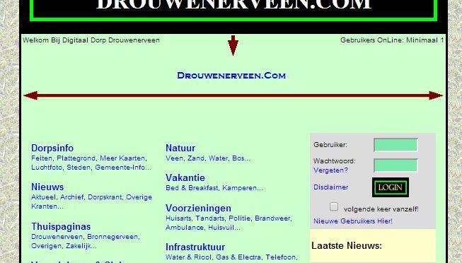 Website Drouwenerveen is ververst