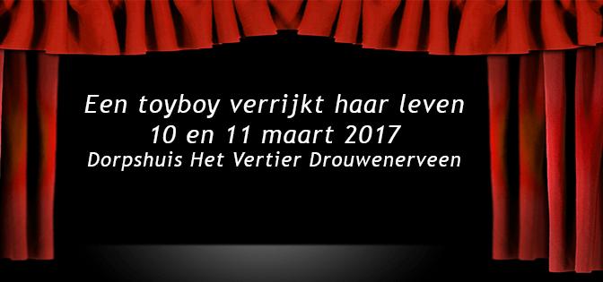 Voorstelling Toneelvereniging Volhouden  10 en 11 maart 2017