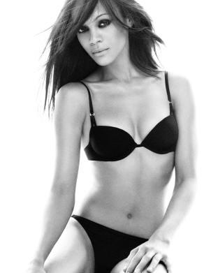 46. Zoe Saldana