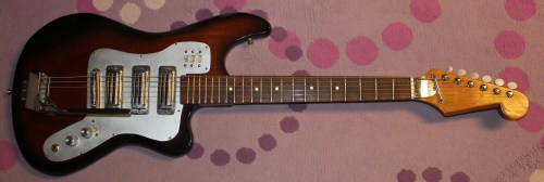 small resolution of late 1960s kawai teisco japanese electric guitar drowning in guitars teisco et 440 del rey teisco spectrum 4 wiring diagram