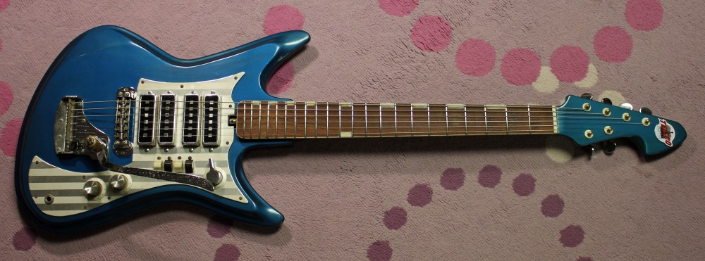 medium resolution of late 1960s teisco k4l et460 japanese guitar gibson explorer wiring teisco k4l wiring diagram