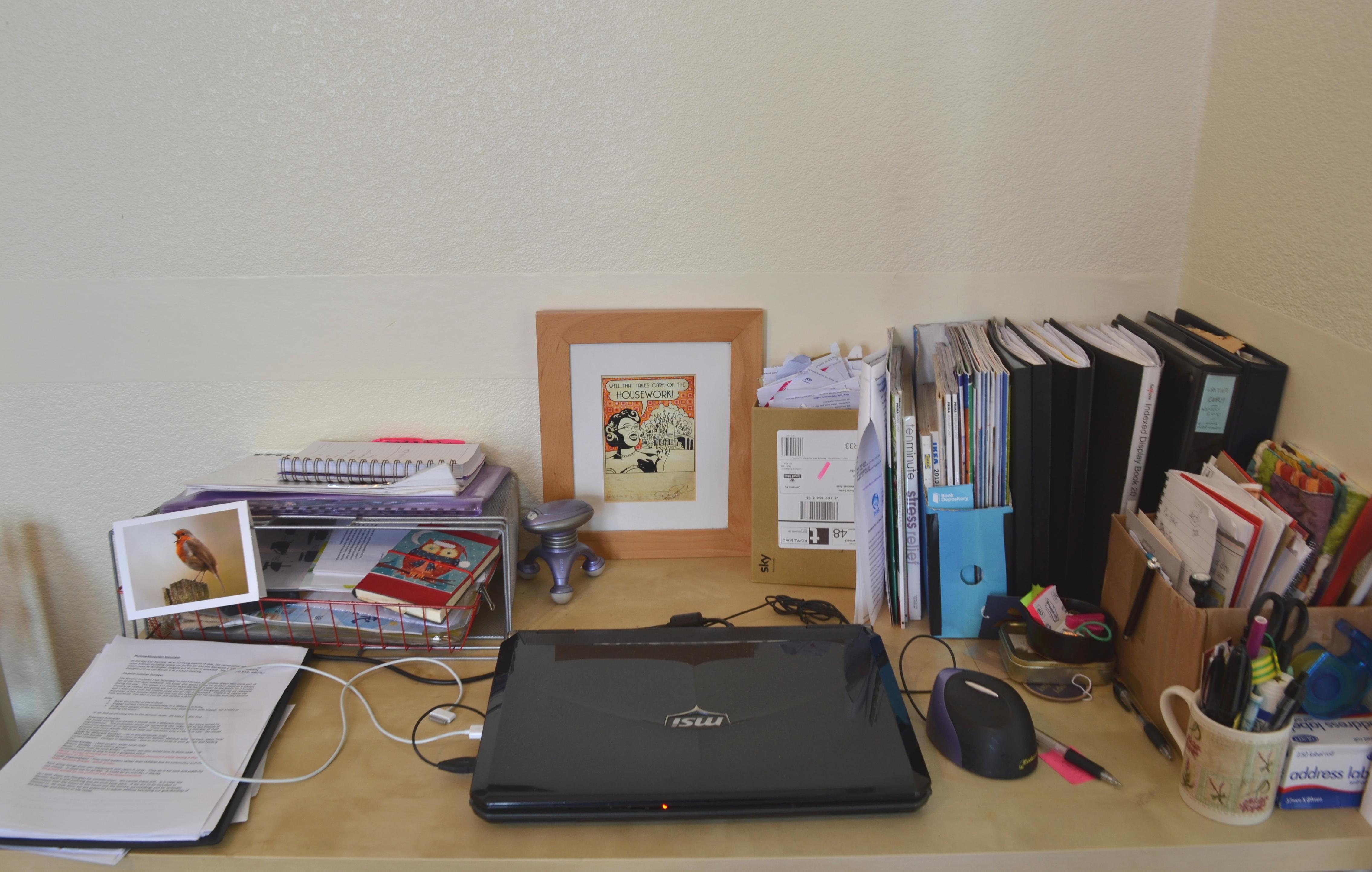 2. Desk, after