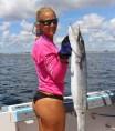 girl with barracuda