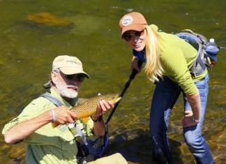 Rebekka Redd brown trout
