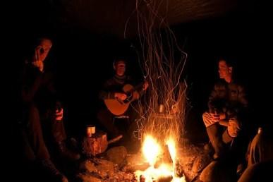 Steve Perih campfire