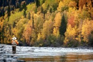 Fly fishing Steve Perih BC