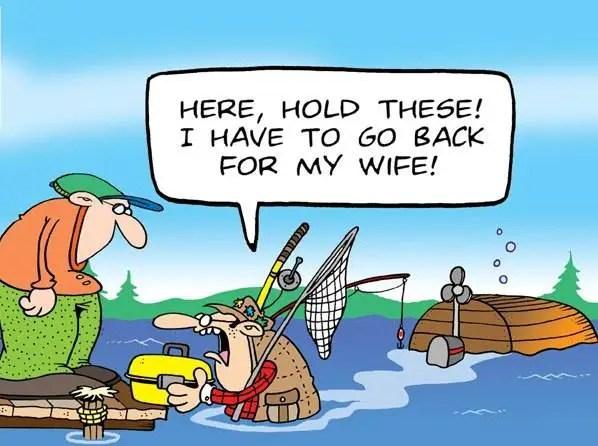 Fishing Cartoons By Tundra Comics