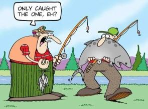 Tundra Comics Fishing Cartoon©
