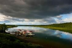 Alaska, No See Um Lodge - Matt Harris, Float Planes
