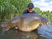 World record common carp, Graham Marsden