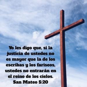 Mateo 5.20