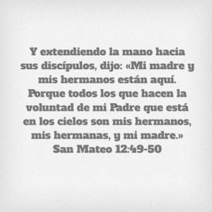 Mateo 12.49-50