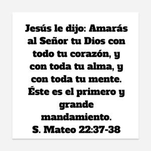 Mateo 22.37-38