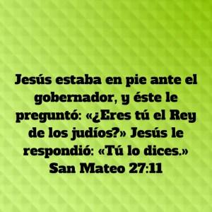 Mateo 27.11