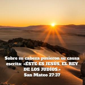 Mateo 27.37
