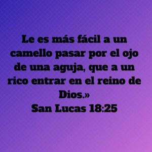 Lucas 18.25