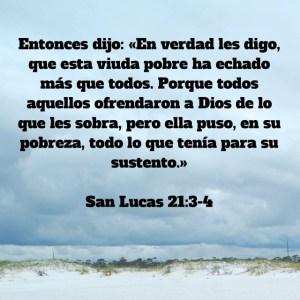 Lucas 21.3-4