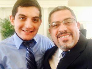 Con Danny Montañez