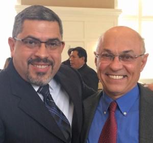 Con Alvin Padilla