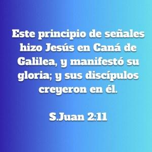 Juan 2.11