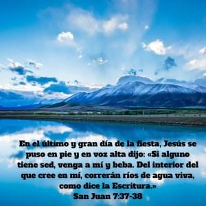 Juan 7.37-38